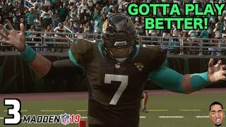 Madden 19 Career Mode - ROUGH TIMES FOR HENNY! #3