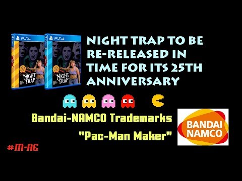 Night Trap Set For Re-Release And Pac-Man Maker Trademarked