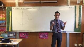 Meanings of the Trigonometric Ratios (1 of 4: Re-introducing the Unit Circle)