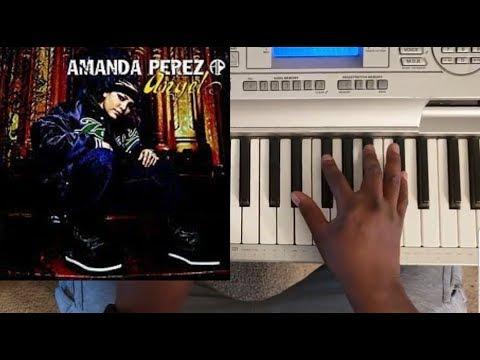 AMANDA PEREZ - ANGEL (GOD SEND ME AN ANGEL) PIANO TUTORIAL C MAJOR