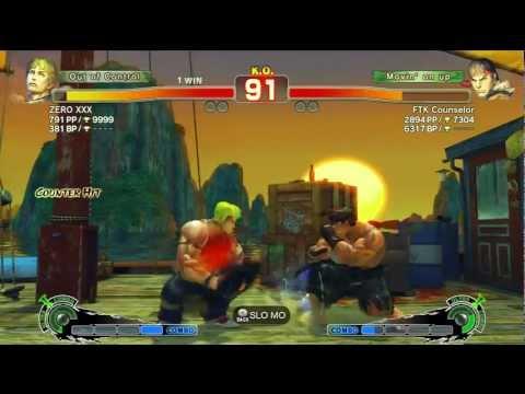 SSF4 AE 2012 - ZERO XXX (Cody) Vs KaizenMaster (Ryu) - Casuals