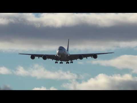Crosswind Landings - Sydney Airport