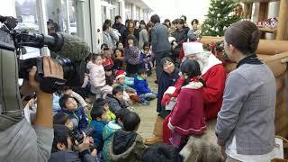 クリスマススペシャルイベント 【本物のサンタクロースが薪ストーブミュ...