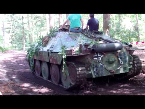 Overloon 2014 MILITRACKS WW II Jagdpanzer Hetzer Kettenkrad VW Kübelwagen u.v.a