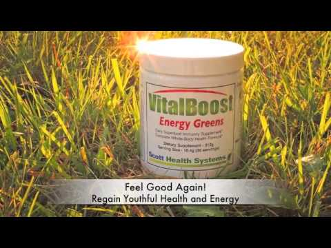 VitaBoost Energy Greens Daily Superfood