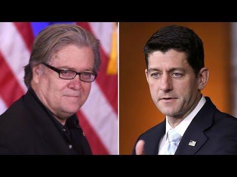 Steve Bannon Once Called Paul Ryan