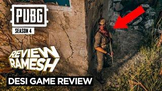 PUBG Season 4 Trailer I Desi Game Review I Review Ramesh