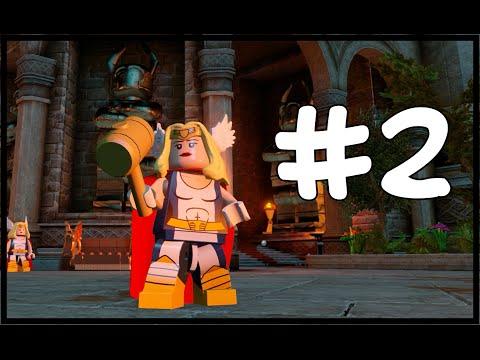 THOR GIRL! - LEGO Marvel's Avengers Free Roam - Part 2(Türkçe Gameplay) HD