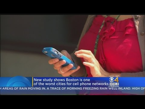 Cell Phone Service In Boston Ranks Among Worst In Country, Study Claims