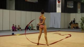 Чугунова Полина / художественная гимнастика / ленточка . Самара