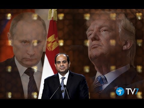Jerusalem Studio 267 - Egypt between the US and Russia