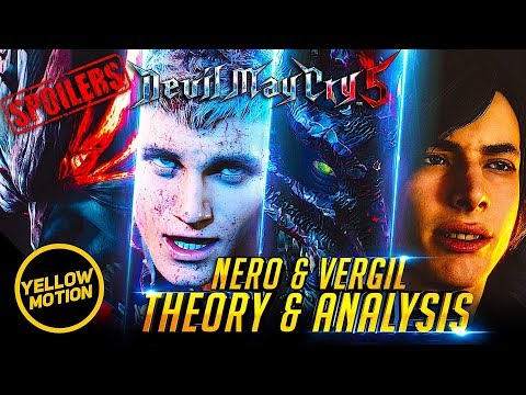 [SPOILERS] Devil May Cry 5 | Is Vergil The Demon King? & Nero's Awakening! Story Theory & Analysis