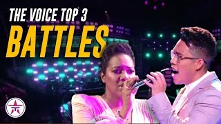 The Voice Top 3 Battles: Filipino Fan Favorite + CONTROVERSIAL Battle Everyone's Talking About!