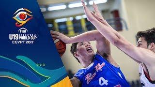 Puerto Rico v Japan - Full Game - CL 9-10 - FIBA U19 Basketball World Cup 2017