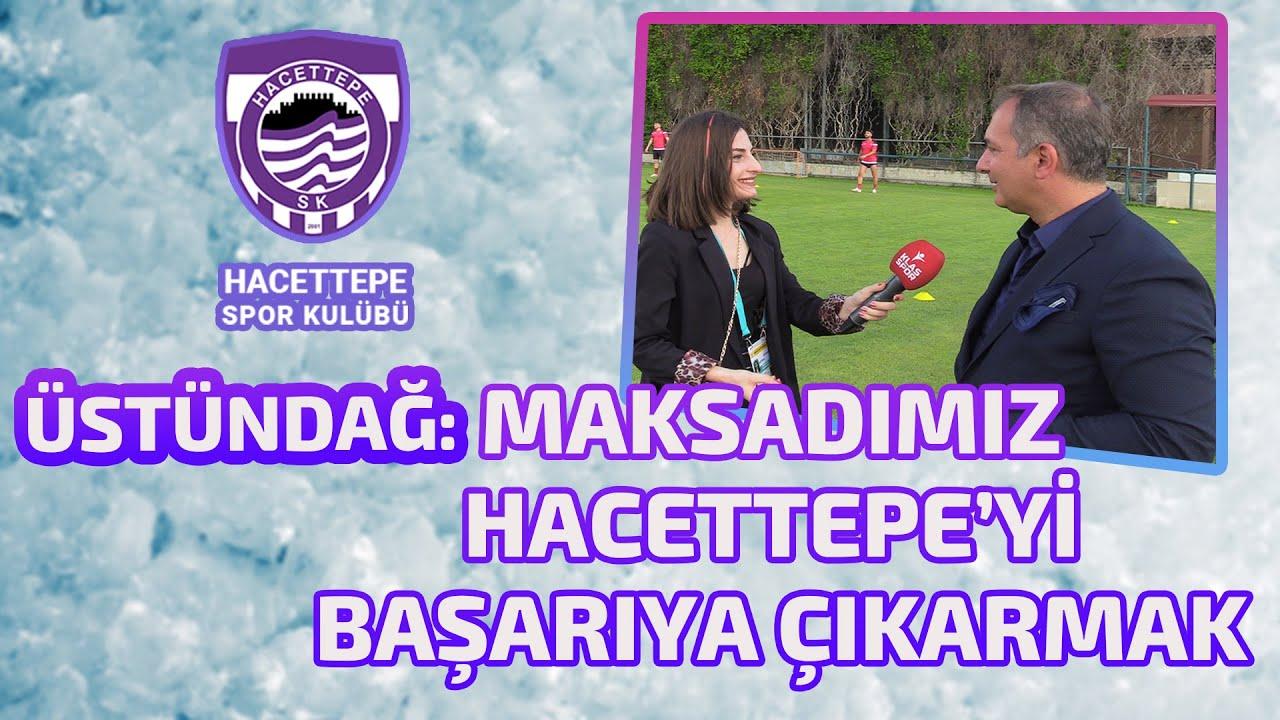 Hedefimiz Gençlerbirliği'ne faydalı olmak, Hacettepe'yi başarıya çıkarmak