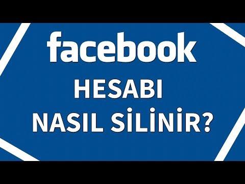 Facebook Hesabı Silme, Nasıl Silinir 2018 ?