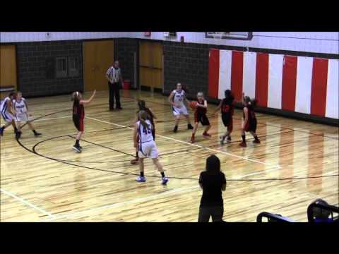 2014-02-23 Southern Lehigh Girls 5th-6th Grade vs  Saucon Valley - Lehigh Valley League Final