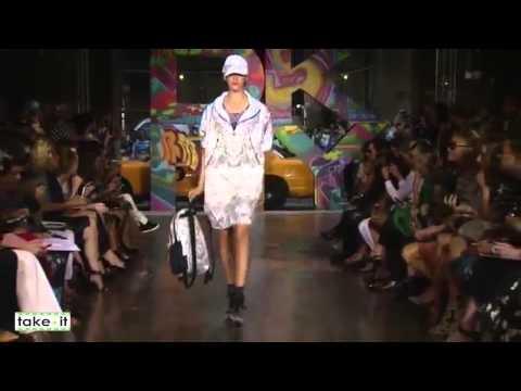 Стиль спортивный шик  лето 2014: женская мода