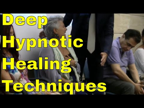 Deep hypnotic healing techniques - Non verbal Hypnosis - Solar Plexus and Mesmeric crise healing!