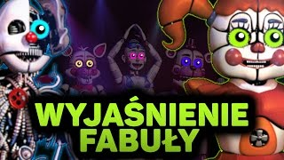 "FNAF SISTER LOCATION - WYJAŚNIENIE FABUŁY! Teoria ""Five Nights At Freddy's"""