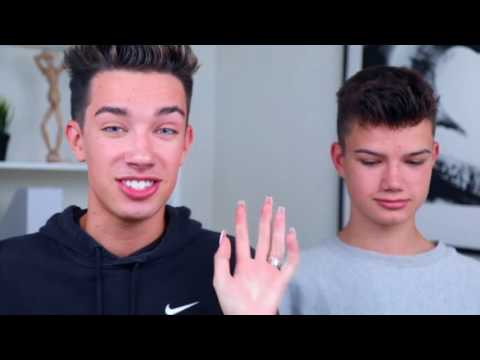 James Charles annoying his brother