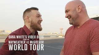 Dana White's Video Blog | MAY/MAC WORLD TOUR | Ep. 1 thumbnail