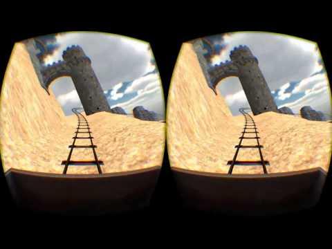 Oculus Rift Игры: Castle Coaster