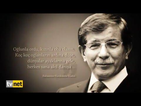 Başbakan Prof. Dr. Ahmet Davutoğlu Türkiye'nin Gururu, Cumhurbaşkanı R. Tayyip Erdoğan'ın Yoldaşı