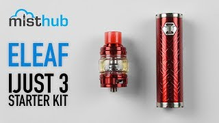 The Eleaf iJust 3 Kit First Look [SMOK Stick Prince Comparison]