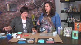 Make it Artsy Season 2 Making Resin Sheets Tutorial with Cat Kerr
