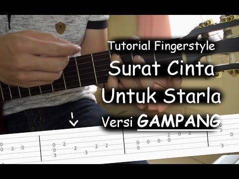Belajar Fingerstyle (Surat Cinta Untuk Starla - Virgoun)