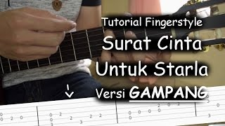 Download Video Belajar Fingerstyle (Surat Cinta Untuk Starla - Virgoun) MP3 3GP MP4