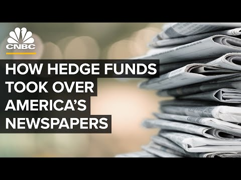 How Hedge Funds Took Over America's Struggling Newspaper Industry
