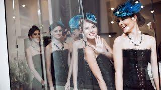 Показ новогодней и зимней свадебной коллекций шляпок