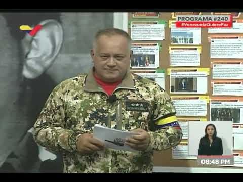 Diosdado Cabello respondió a Marco Rubio sobre bloqueo en Puente Las Tienditas