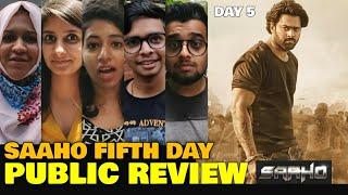 Saaho Movie FIFTH DAY Public Review | Saaho Movie DAY 5 Public Talk | Prabhas, Shraddha Kapoor