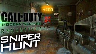 SNIPER HUNT | Modern Warfare: Remastered PC Gameplay [60fps]