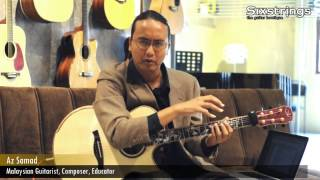 Mini Lessons with Az Samad, Lesson 3: Barre Chords - Sixstrings, Malaysia