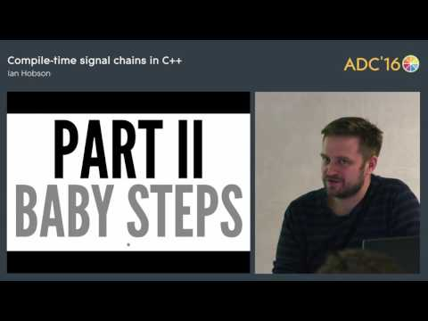 Compile-time signal chains in C++, Ian Hobson (Ableton)