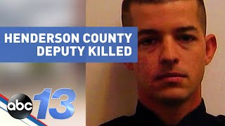 Authorities confirm henderson county deputy ryan hendrix has died from his injuries following an early morning shooting.in a press conference, coun...