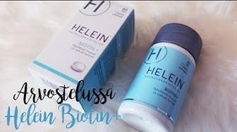 ARVOSTELU: Helein Biotin+ -Kauneusravintolisä, Kasvoivatko hiukset ja kynnet?