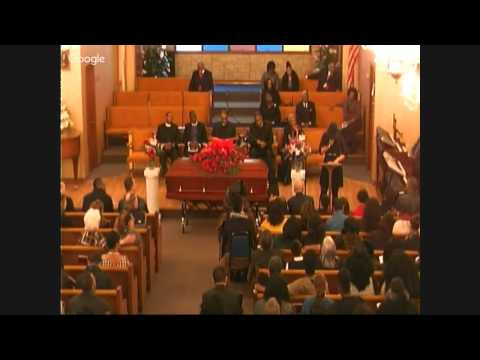 Home going service for Jordan Cared Thomas