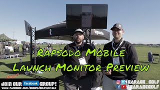 Rapsodo Mobile Launch Monitor Preview at PGA Demo Day 2020