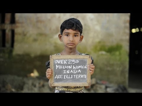 Over 250 Million Women in Asia Are Illiterate