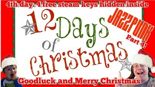 Christmas  Steam  Key Giveaway 4 Free  Games inside // Let
