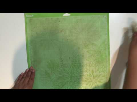 How to clean a Cricut mat