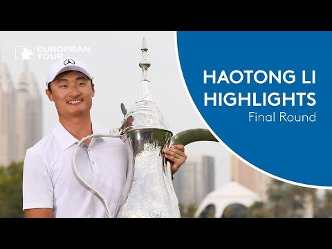 Haotong Li wins the 2018 Omega Dubai Desert Classic | Final Round Highlights