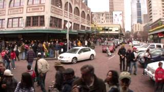 Spring Day At The Pike Street Market With Music By Raw Corn