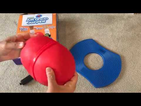 Air Pogo Jumper Review + ASSEMBLY INSTRUCTIONAL