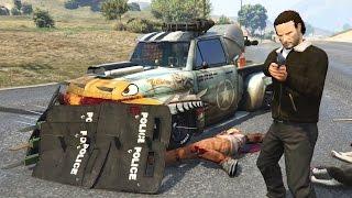 GTA 5 Mods - ZOMBIE APOCALYPSE BATTLE VEHICLES #2!! GTA 5 Zombie Mod Gameplay! (GTA 5 Mods Gameplay)